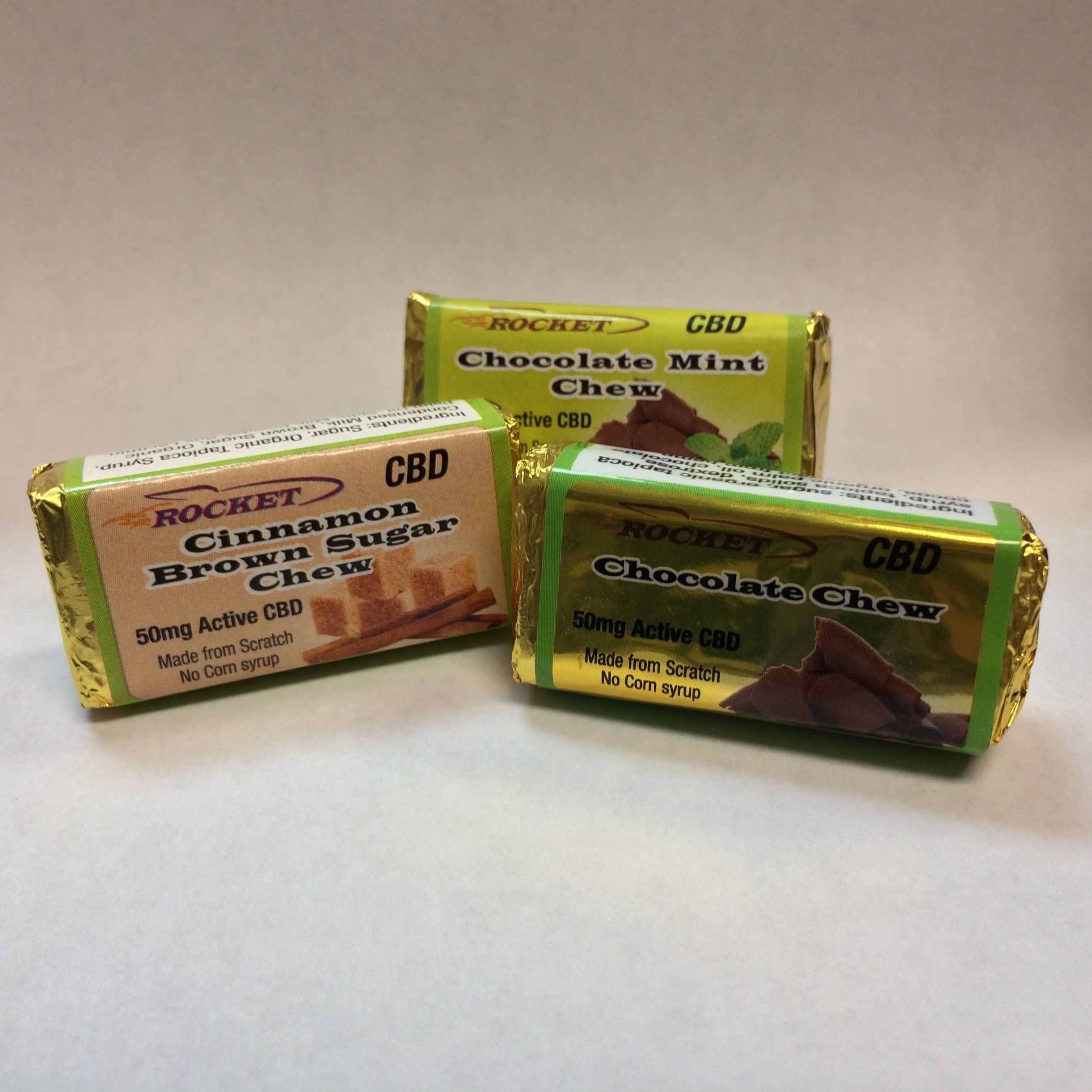 Rocket Chews 5 For $55 (50 Mg Each)